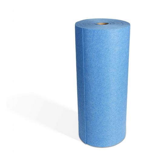 Sticky Backed Blue Floor Roll 30m SC-08-116