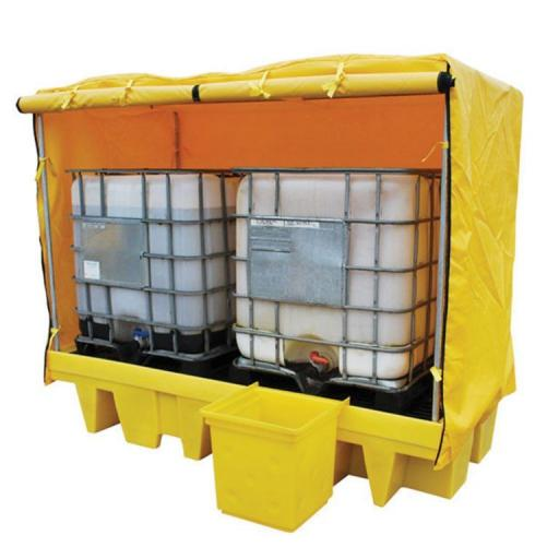 Double IBC Frame and Cover FL-205-207