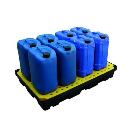 Poly Spill Tray With Platform Grid 100 Litre Capacity FL-205-519