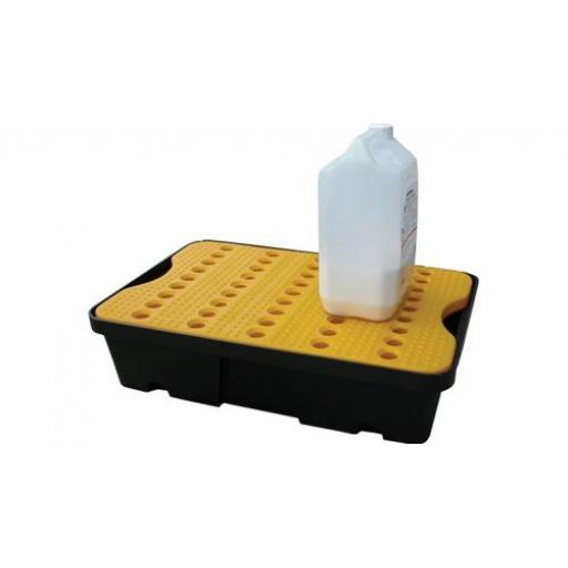 Poly Spill Tray With Platform Grid 20 Litre Capacity FL-205-516