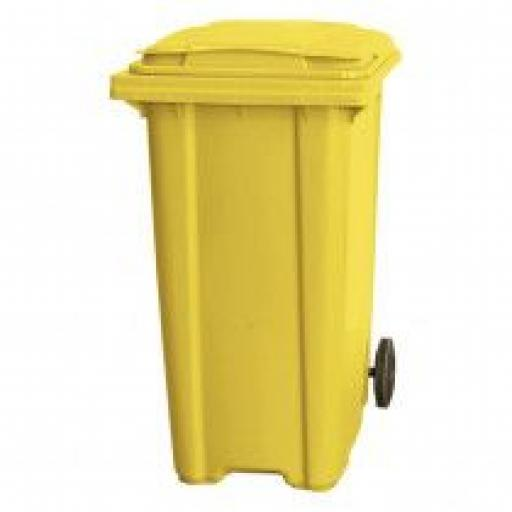 360 Litre Wheelie Bin | Yellow