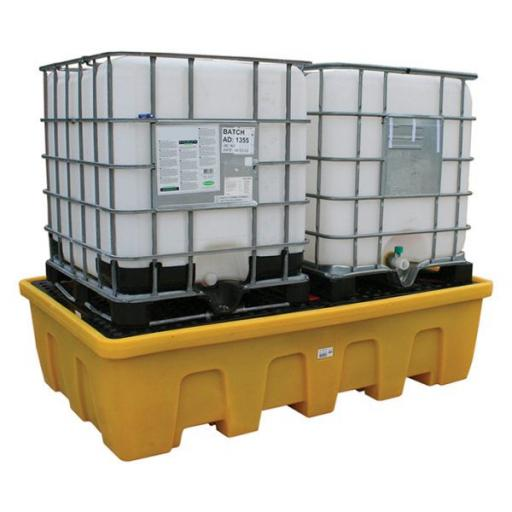 Double Stackable IBC Spill Pallet FL-205-216