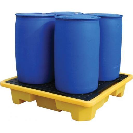 4 Drum Stackable Spill Pallet FL-205-112